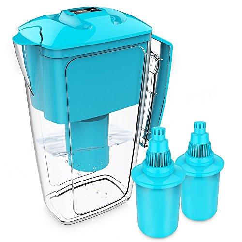 alkaline wasser filter kr ge wasser reiniger mit 2 long life filter 2 st ck 2 5 l oxa smart. Black Bedroom Furniture Sets. Home Design Ideas